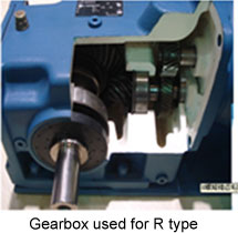 Gear box used for R type pellet mill