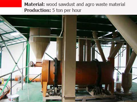 5 t/h Complete Feed Mill Line in Indonesia