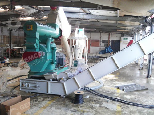 1 Ton/H pellet-mill-plant-uk