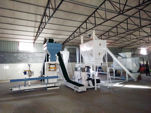 2 t/h feed pellet production line in Philippines