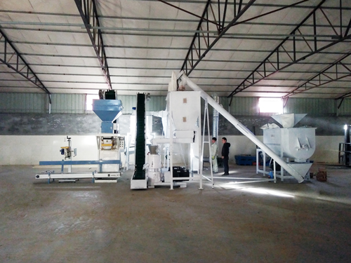 small feed pellet production line by GEMCO