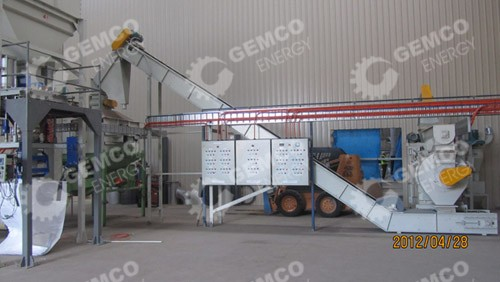 wood pellet production line inAustralia
