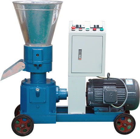 pellet mill with electric motor